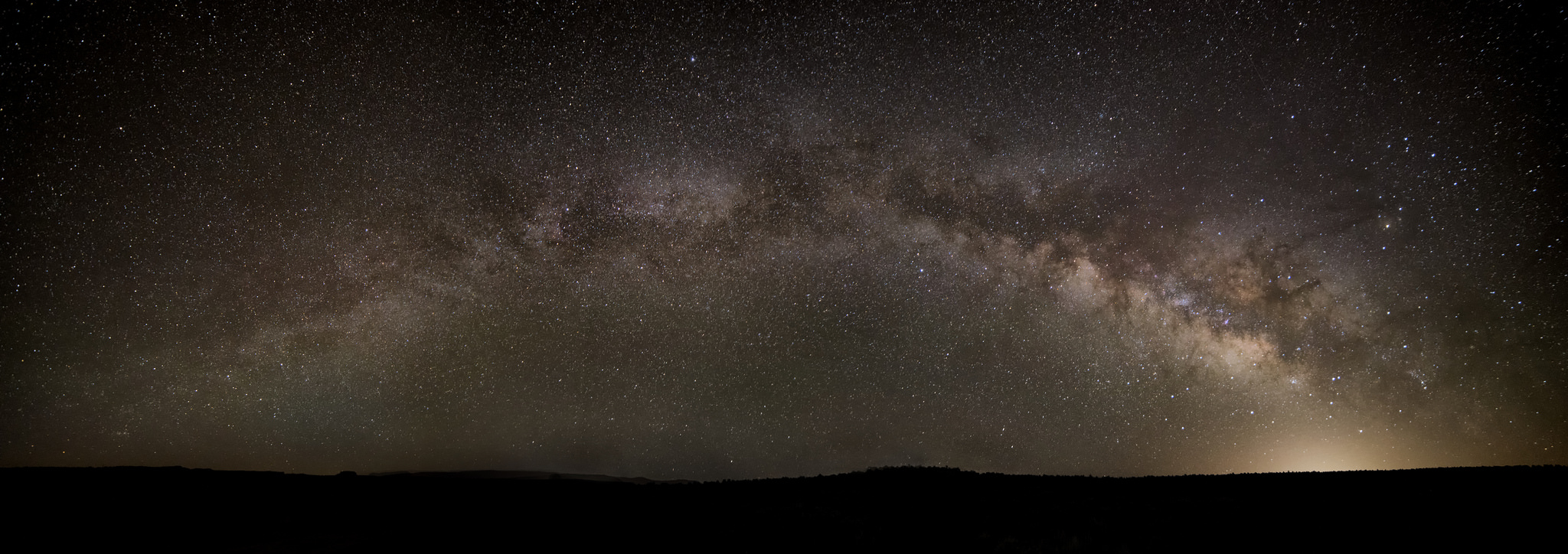 An image displaying the astrophotography capabilities of the Rokinon 14mm f/2.8.
