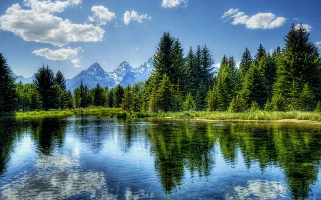 A beautiful landscape photo showing the contrast a good lens filter is able to provide.