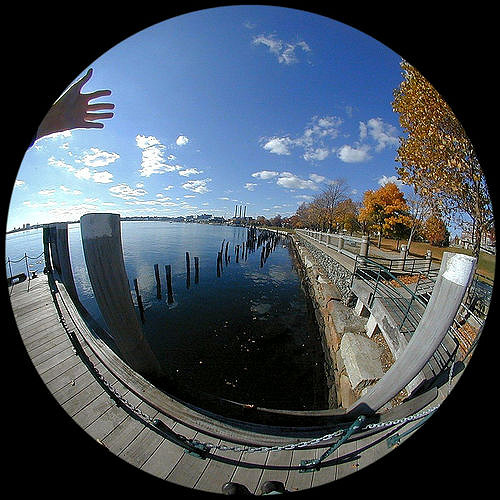 An example photograph taken with the circular fisheye style that the Meike 6.5mm Ultra Wide uses. This is a good example of the type of fisheye photograph that you will be able to get from your Sony a6000 when using this lens.