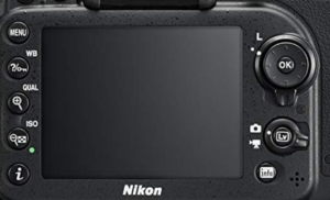 The user interface and control system for the Nikon d7200.