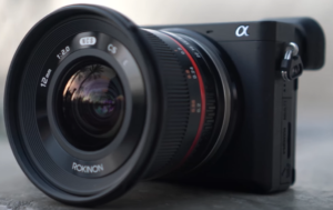The Rokinon 12mm attached to a Sony a6000 offering an ideal combination for real estate photography.