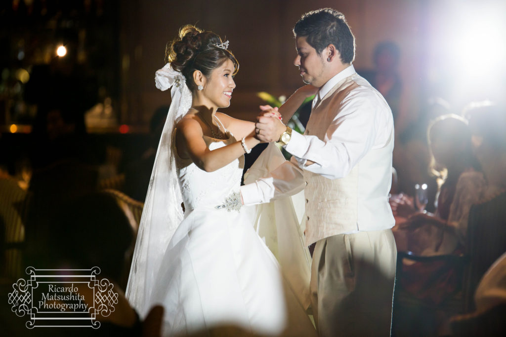 A wedding photograph captured using the Tamron 70-200mm showing the type of image quality that you can get out of the lens.