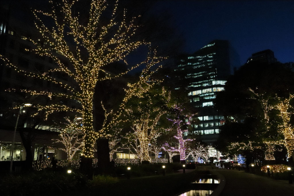Another great photograph captured using the Canon EF-M 11-22mm showcasing its low light performance. This time showing Akasaka park in Tokyo.