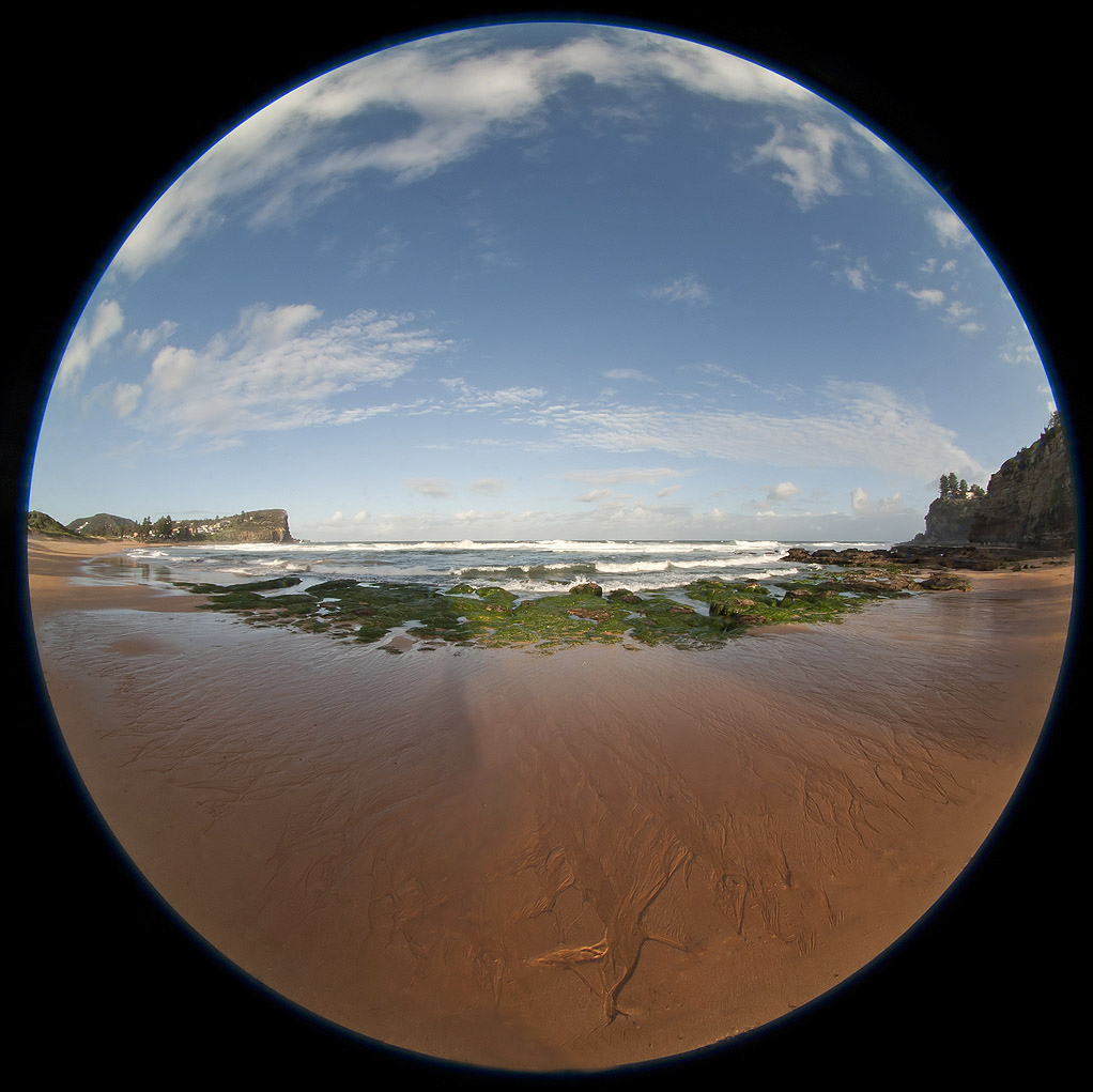 A great photograph captured using the Sigma 4.5mm f/2.8 showing the long distance fisheye potential of the lens.