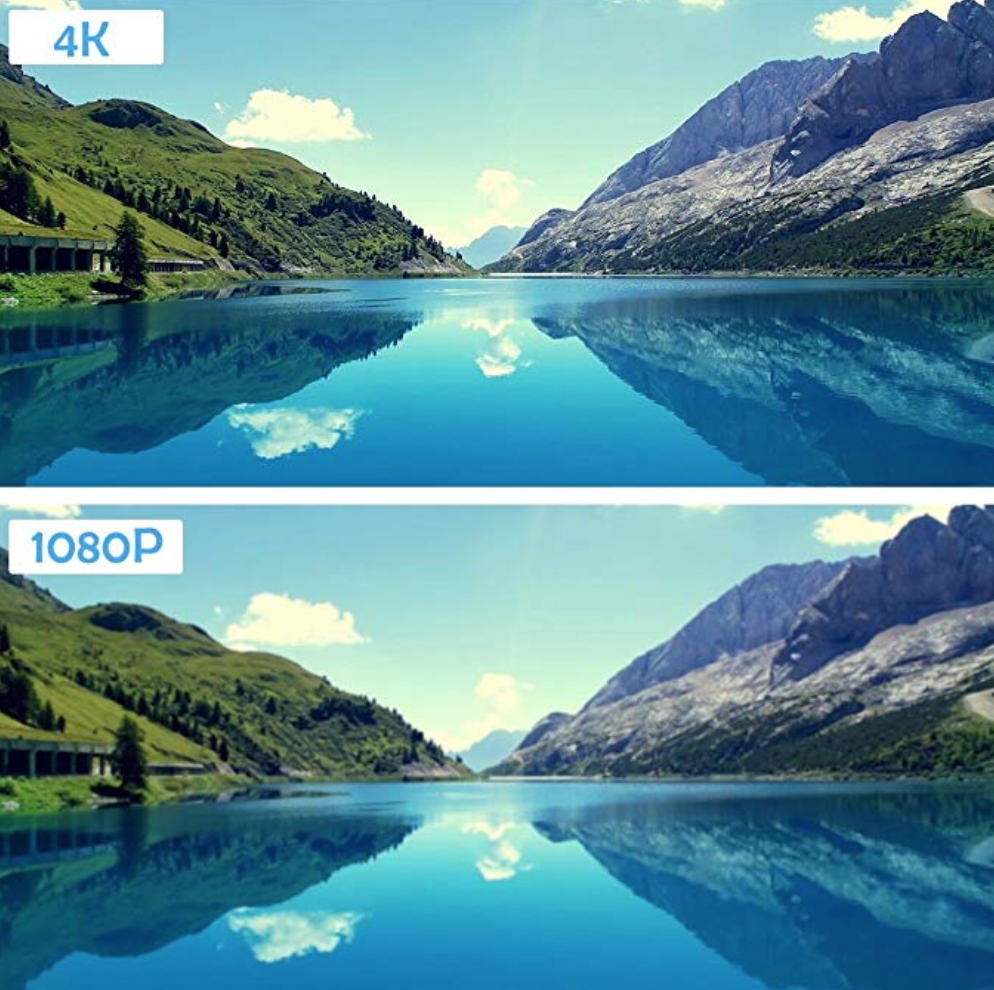 A photograph captured using the Campark x20 showing the type of image quality that you can expect from it with its 4K and 1080P settings.